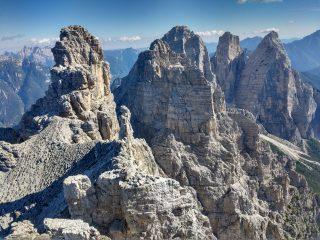 Dalla cima, verso il Bosconero