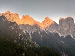 Tramonto sul Bosconero