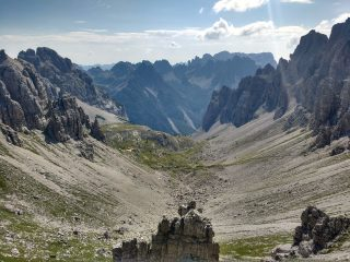 Val Monfalcon di Forni dalla forcella