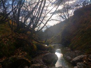 Il ruscello della Val de l'Egua